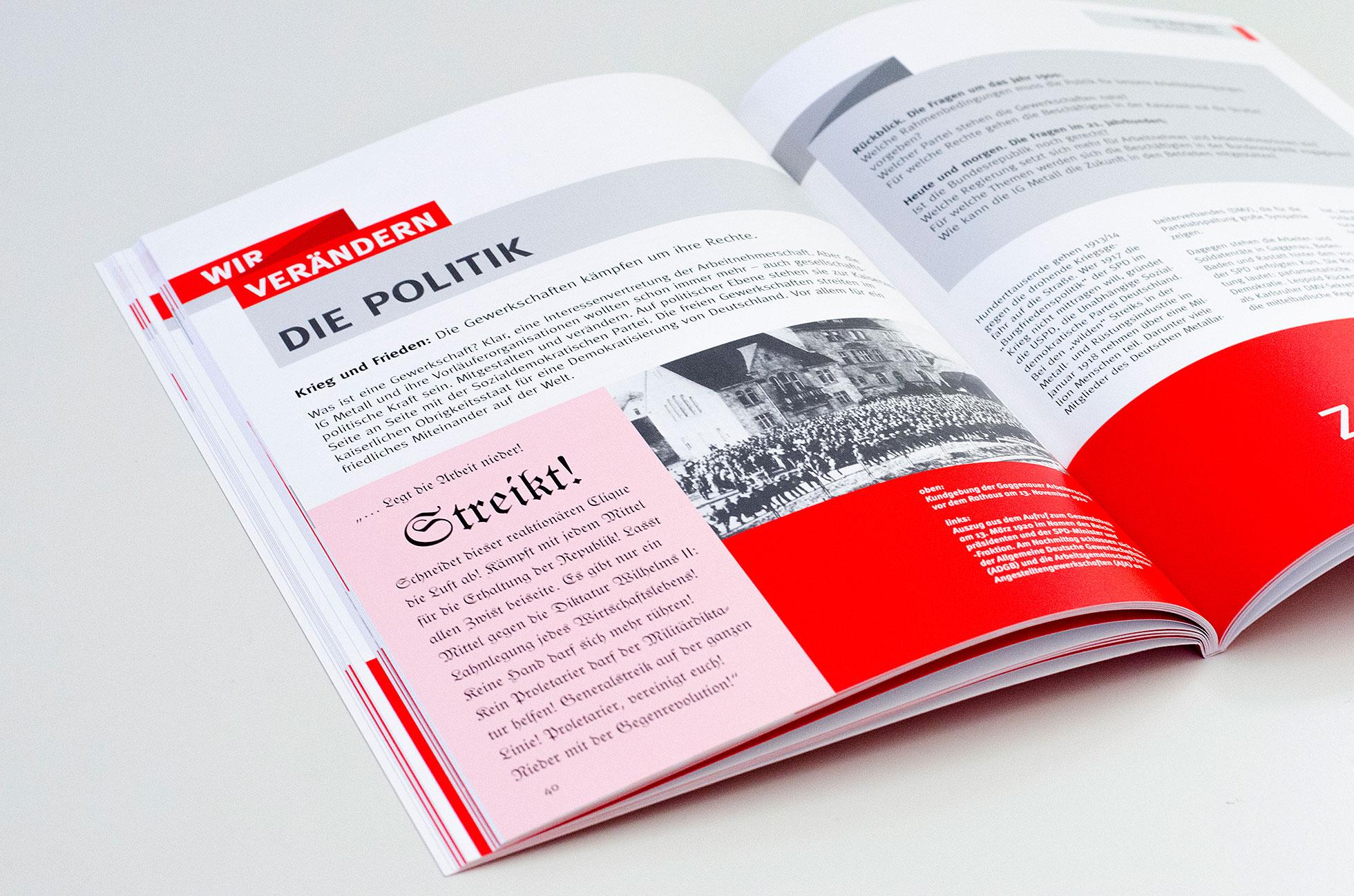 125 Jahre IG Metall Gaggenau – WIR  VERÄNDERN