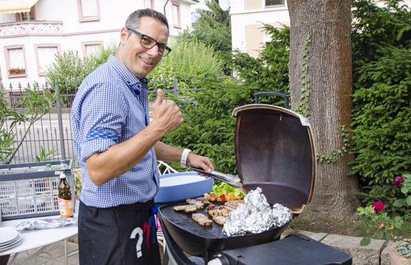 Grillen mit Manuel Ganz